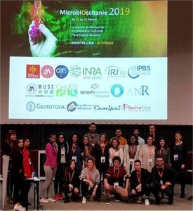 Les étudiants IMHE organisent le congrès MicrobiOccitanie 2019